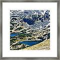 Mountains Lakes Framed Print