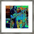 Mrdog #26 Enhanced In Cosmicolors 2 Framed Print