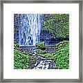 Mulnomah Falls Framed Print