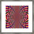Multicolored Abstract Framed Print