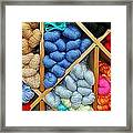 Multiple Colors Framed Print