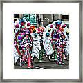 Mummer Color Framed Print