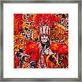 Mummer Red Framed Print