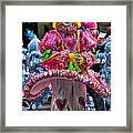 Mummers Underpants Framed Print