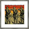 Murder In Cold Blood - Ww2 Framed Print