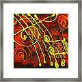 Music 3 Framed Print