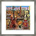 Music Castle Framed Print