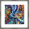 Music Flight Framed Print