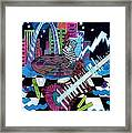 Music On The River Stl Style Framed Print