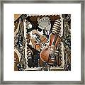 Musical Abstract Framed Print