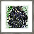 My Little Owl Framed Print