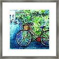 My Red Bike  Framed Print