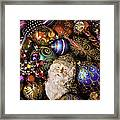 My Special Christmas Ornaments Framed Print