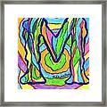 Mystic M Framed Print