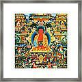 Namo Amitabha Buddha 24 Framed Print