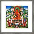 Namo Amitabha Buddha 40 Framed Print