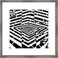 Nano Curcuits Maze  Framed Print