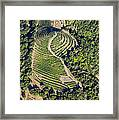 Napa Valley From Above Framed Print