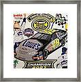 Nascar 2007 Champion Framed Print