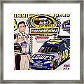 Nascar 2009 Champion Framed Print