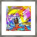 Nasdaq Who What When Where And Why Framed Print