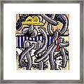 Nassau Junkanoo 1 Framed Print by Philip Slagter