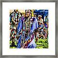 Native American Elder Framed Print