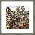 Native Americans: Disease Framed Print