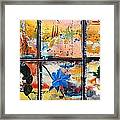 native Texas wildflowers B Framed Print by Michael Dillon