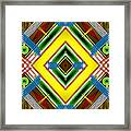 Native Weave Life Framed Print