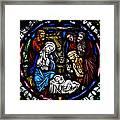 Nativity With Shepherds Framed Print