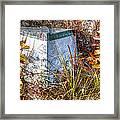 Nature's Storage Framed Print