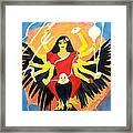 Nava Durga Chandraghanta Framed Print by Pratyasha Nithin