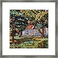 Near The Tech Duck Pond Framed Print