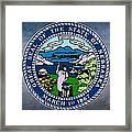 Nebraska State Seal Framed Print
