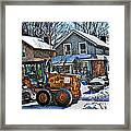 Neighbourhood Snowplough 2 Framed Print