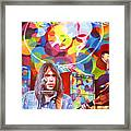 Neil Young-crazy Horse Framed Print