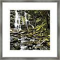 Nelson Falls Tasmania Framed Print