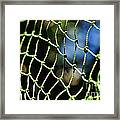 Netting - Abstract Framed Print by Kaye Menner