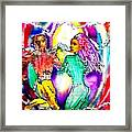 Neutron Dance Framed Print