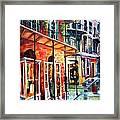 New Orleans Rainy Day Framed Print