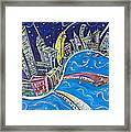 New York City Nights Framed Print