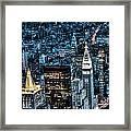 New York City Triptych Part 1 Framed Print