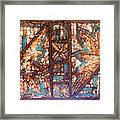 Night And Day Hard Framed Print