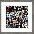 Nirvana Collage Framed Print by Taylan Apukovska