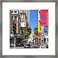 Nob Hill - San Francisco Framed Print