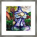 Norm The Little Old Wizard Framed Print