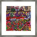Not So Private Property Framed Print