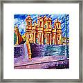 Noto Cathedral Sicily Framed Print