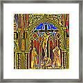 Notre Dame Color Framed Print